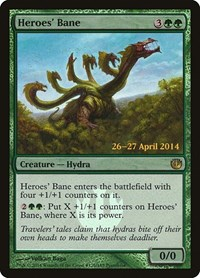 Heroes' Bane, Magic: The Gathering, Prerelease Cards