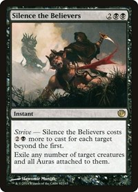 Silence the Believers, Magic: The Gathering, Journey Into Nyx