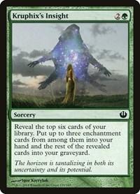 Kruphix's Insight, Magic: The Gathering, Journey Into Nyx