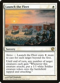 Launch the Fleet, Magic: The Gathering, Journey Into Nyx