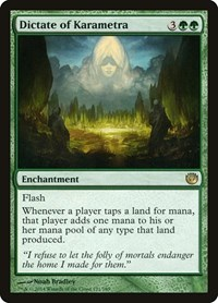 Dictate of Karametra, Magic: The Gathering, Journey Into Nyx