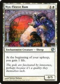 Nyx-Fleece Ram, Magic: The Gathering, Journey Into Nyx