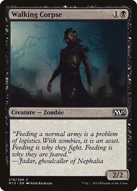 Walking Corpse, Magic: The Gathering, Magic 2015 (M15)