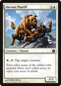 Akroan Mastiff, Magic: The Gathering, Journey Into Nyx