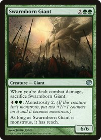 Swarmborn Giant, Magic, Journey Into Nyx