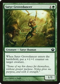 Satyr Grovedancer, Magic, Journey Into Nyx