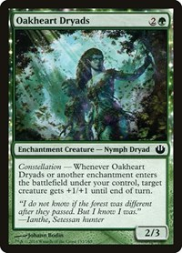 Oakheart Dryads, Magic: The Gathering, Journey Into Nyx