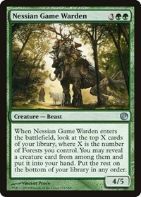 Nessian Game Warden, Magic: The Gathering, Journey Into Nyx