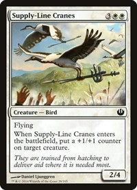 Supply-Line Cranes, Magic: The Gathering, Journey Into Nyx