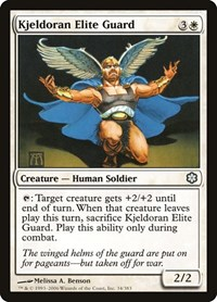 Kjeldoran Elite Guard, Magic, Coldsnap Theme Deck Reprints