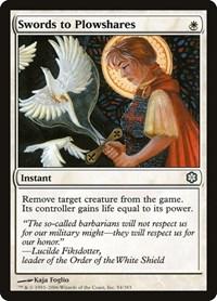 Swords to Plowshares, Magic: The Gathering, Coldsnap Theme Deck Reprints