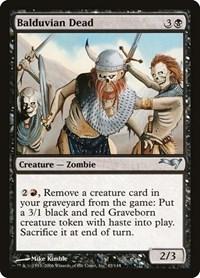 Balduvian Dead, Magic: The Gathering, Coldsnap Theme Deck Reprints