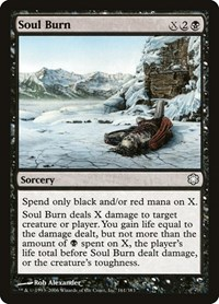 Soul Burn, Magic: The Gathering, Coldsnap Theme Deck Reprints