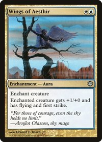 Wings of Aesthir, Magic: The Gathering, Coldsnap Theme Deck Reprints