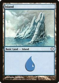 Island (372), Magic: The Gathering, Coldsnap Theme Deck Reprints