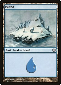 Island (374), Magic: The Gathering, Coldsnap Theme Deck Reprints