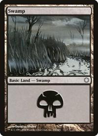 Swamp (376), Magic: The Gathering, Coldsnap Theme Deck Reprints