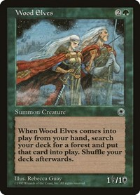 Wood Elves, Magic: The Gathering, Portal