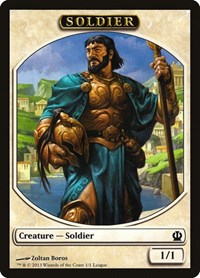 Soldier Token (Theros), Magic: The Gathering, League Promos