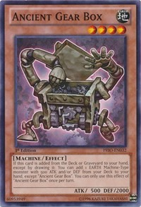 Ancient Gear Box, YuGiOh, Primal Origin