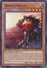 Dawn Knight, YuGiOh, Primal Origin