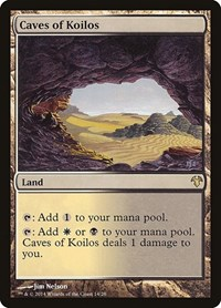 Caves of Koilos, Magic: The Gathering, Magic Modern Event Deck