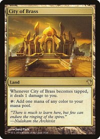 City of Brass, Magic: The Gathering, Magic Modern Event Deck
