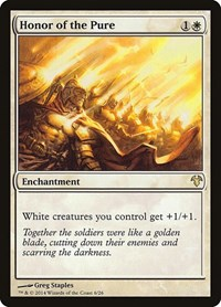 Honor of the Pure, Magic: The Gathering, Magic Modern Event Deck