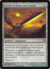 Sword of Feast and Famine, Magic: The Gathering, Magic Modern Event Deck