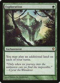 Exploration, Magic: The Gathering, Conspiracy