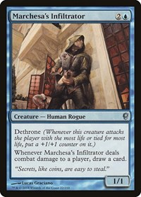 Marchesa's Infiltrator, Magic: The Gathering, Conspiracy
