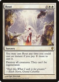 Rout, Magic: The Gathering, Conspiracy