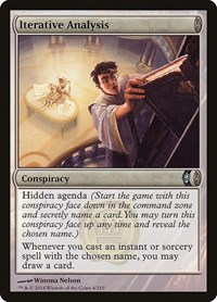 Iterative Analysis, Magic: The Gathering, Conspiracy