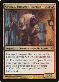 Grenzo, Dungeon Warden, Magic: The Gathering, Conspiracy