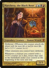 Marchesa, the Black Rose, Magic: The Gathering, Conspiracy