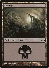 Swamp (62), Magic: The Gathering, Duel Decks: Divine vs. Demonic