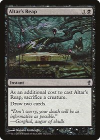 Altar's Reap, Magic: The Gathering, Conspiracy
