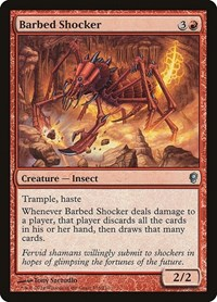 Barbed Shocker, Magic: The Gathering, Conspiracy