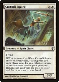 Custodi Squire, Magic, Conspiracy