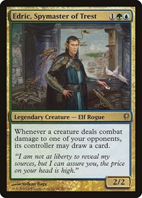 Edric, Spymaster of Trest, Magic, Conspiracy