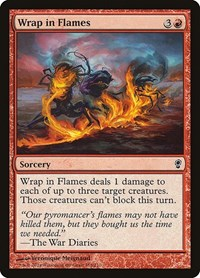Wrap in Flames, Magic: The Gathering, Conspiracy