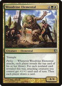 Woodvine Elemental, Magic, Conspiracy