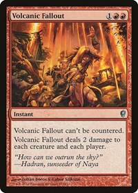 Volcanic Fallout, Magic: The Gathering, Conspiracy