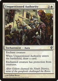 Unquestioned Authority (Foil)