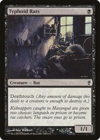 Typhoid Rats, Magic: The Gathering, Conspiracy