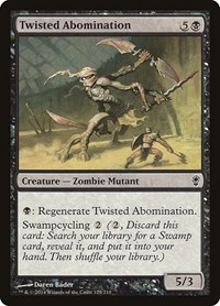 Twisted Abomination, Magic: The Gathering, Conspiracy