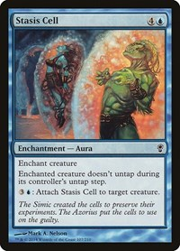 Stasis Cell, Magic: The Gathering, Conspiracy