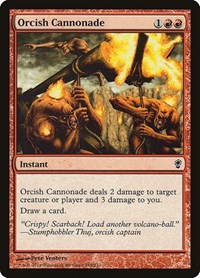 Orcish Cannonade, Magic: The Gathering, Conspiracy