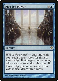Plea for Power, Magic: The Gathering, Conspiracy