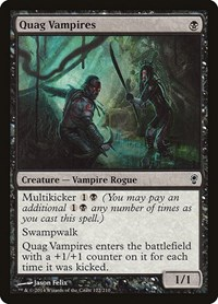 Quag Vampires, Magic: The Gathering, Conspiracy